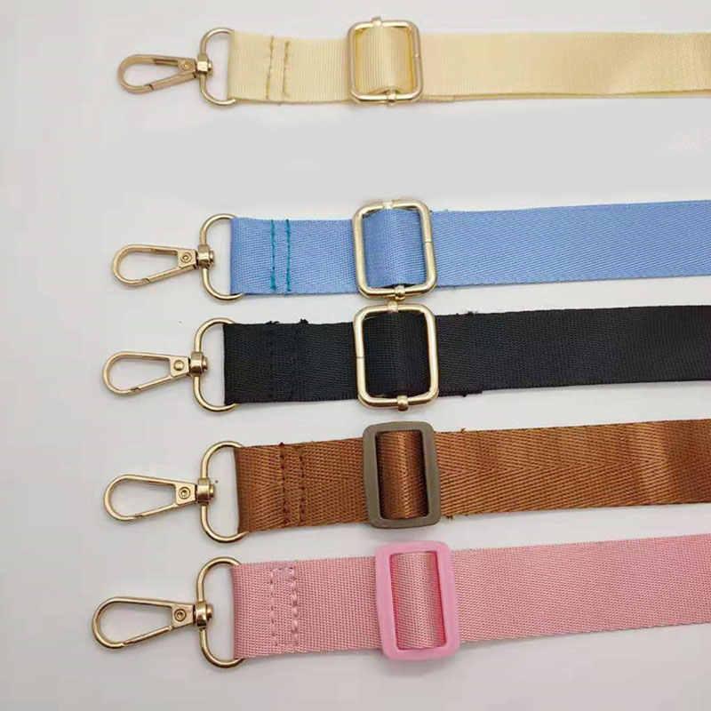 กว้าง Candy สีกระเป๋าสำหรับกระเป๋าถือสตรีตกแต่ง Messenger เข็มขัด Crossbody กระเป๋าอุปกรณ์เสริม