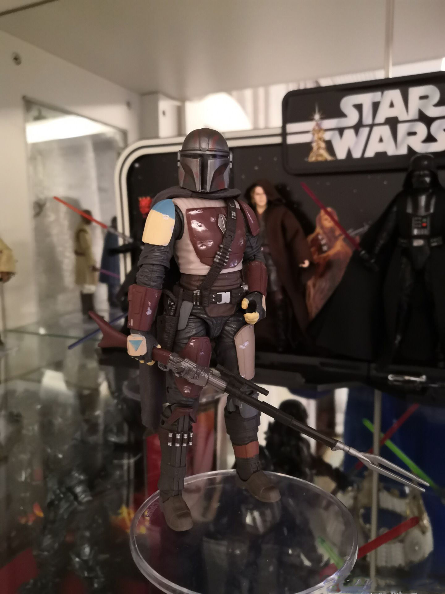 Hasbro Star Wars The Mandalorian Anime Action & Toy Figures Model Toys For Children With Box