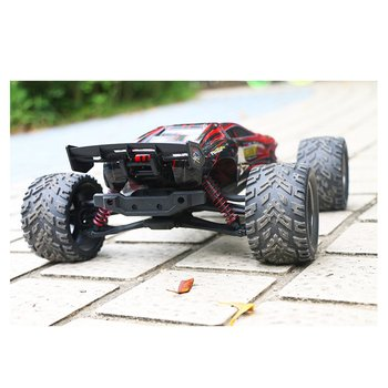 9116 1:12 RC Car Brushed Motors Drive Bigfoot Car 4WD Driving Truck Cars Remote Control Car Model Off-Road Vehicle Toy 1