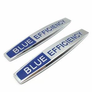 2 шт. Автомобильный задний багажник бампер или боковое крыло Металлическая Эмблема-наклейка на автомобиль значок для Blue Efficiency Lorinser Avantgarde Автомобильный логотип 164