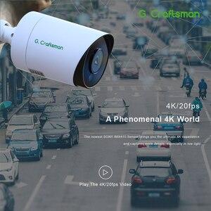 Image 3 - Система видеонаблюдения Sony IMAX415 H.265, 4 канала, 4K POE, 8 каналов, уличный водонепроницаемый видеорегистратор, IP камера с аудио и сигнализацией, p2p