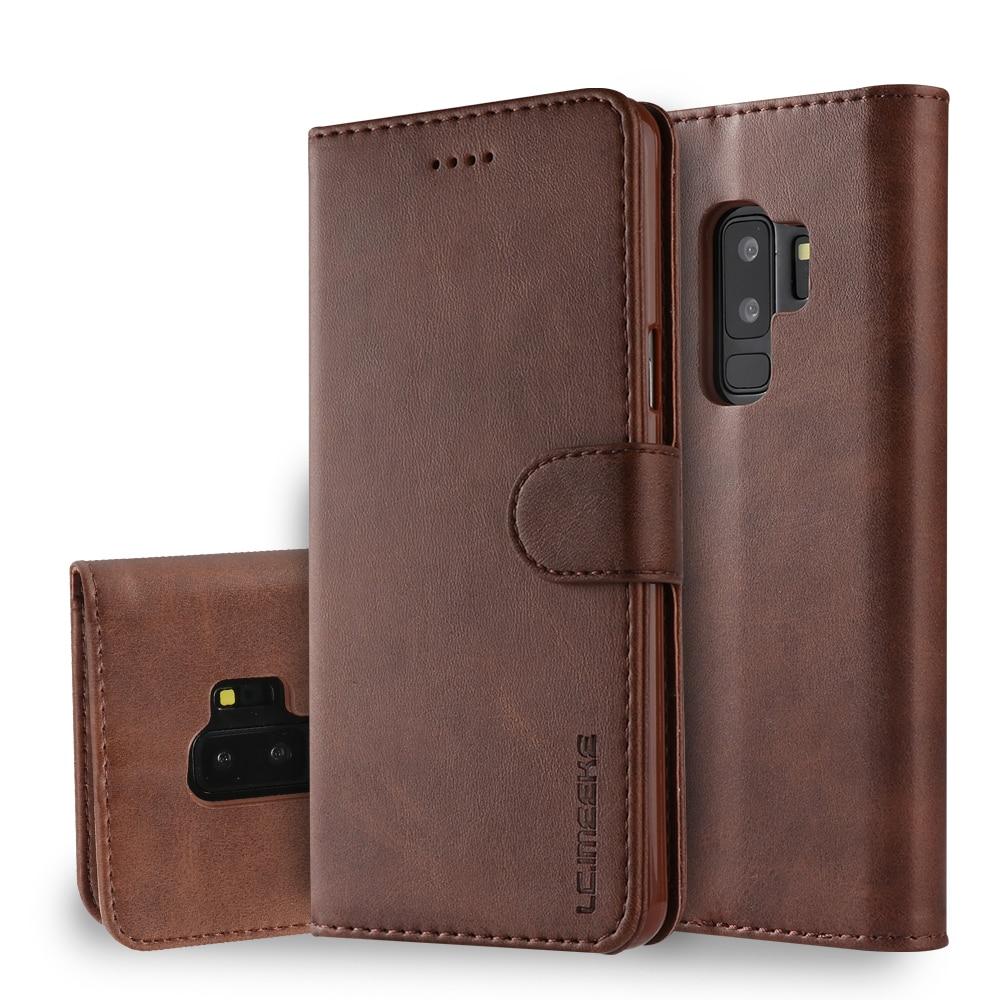 Чехол S9 Plus для Samsung Galaxy S9 Plus, кожаный Винтажный чехол для телефона Samsung S9, чехол-книжка с бумажником для Samsung S 9 S9 +