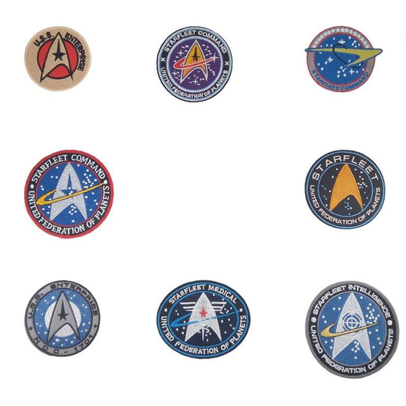 Star Trek TNG COMMAND EMBLEM Badge Costume T-Shirt All Sizes