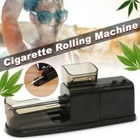 8mm Automatic Electronic Cigarette Maker Tobacco Rolling Machine Injector Smoke Tools Wrapping Herb Weed Grinder Lighter DIY