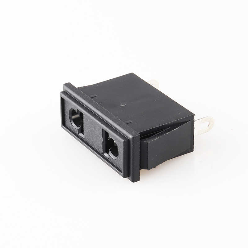 Chassis Vrouwelijke 2PIN Ac Ons Nema 1-15R Inline Socket Plug Adapter Industrial Power Connector Supply Output Outlet 10A/250V Socke