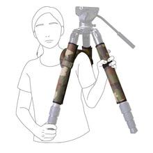 L404C универсальные профессиональные ножки для штатива плечевые накладки защитный рукав для штатива Наплечные накладки нагреватели нескользящий чехол для штатива