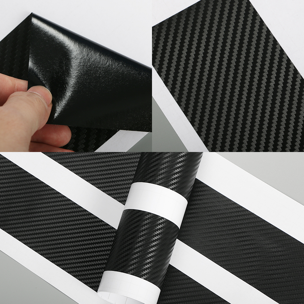 Image 5 - For Ford Focus 2 3 1 MK2 MK3 MK1 4PCS Carbon Fiber Car Door Sill Stickers Auto Scratch Protector Decals Car Tuning Accessories-in Car Stickers from Automobiles & Motorcycles
