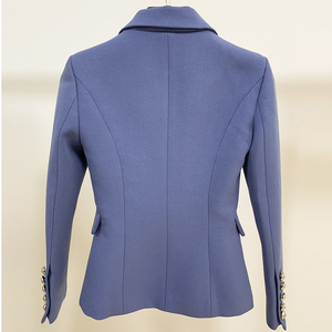 Image 3 - Blazer, nouveauté tendance, croisé, boutons lions, blouson de styliste pour femmes 2020