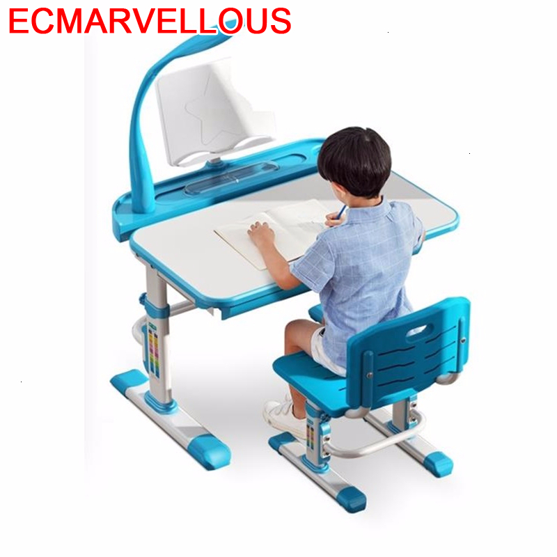 Dzieci Per Mesa Y Silla Infantil Pour Cocuk Masasi Toddler Tavolo Bambini Adjustable For Bureau Enfant Kinder Kids Study Table