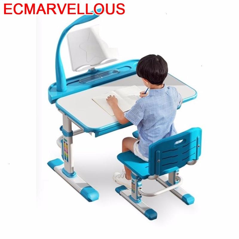 Dzieci Per Mesa Y Silla Infantil Pour Cocuk Masasi Toddler Tavolo Bambini Adjustable For Bureau Enfant Kinder Kids Study Table