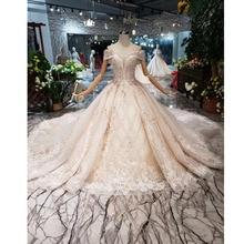 BGW HT43027 럭셔리 소재 웨딩 드레스 2020 국제 패션 디자인 Spacial Sweetheart 수제 신부 드레스 웨딩 드레스