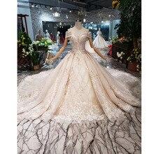 BGW HT43027 יוקרה חומר חתונה שמלת 2020 בינלאומי אופנה עיצוב מרחבי מתוקה בעבודת יד כלה שמלת חתונת שמלה