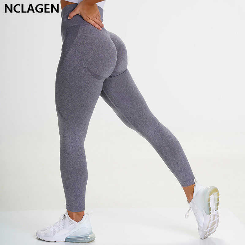 Nahtlose Leggings Sport Frauen Fitness Push Up Yoga Hosen Hohe Taille Squat Proof Workout Laufsport Gym Strumpfhosen NCLAGEN