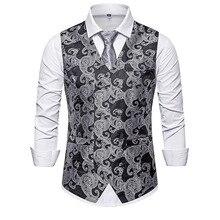 Мужской жилет мужской высококачественный двубортный Тонкий жилет жилетный костюм для мальчика Модный свадебный Банкетный жилет