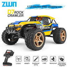WLtoys 12402a 12428 12429 1:12 Rock Crawler RC Car 50KM/H 4WD Electric High Speed Car Off-Road Drift Remote Control Children Toy