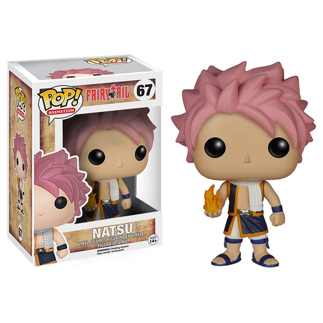 FUNKO POP FAIRY TAIL END 67# Gajeel 481# Anime Figure Model Dolls Decoration Toys for Kids Birthday Christmas Gifts 3