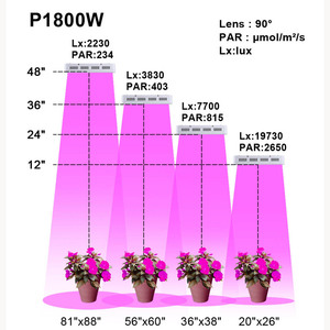 Image 5 - ספקטרום מלא 1800W 900W led לגדול אור כפול שבב 10W לצמחים מקורה מנורות הידרופוניקה תאורה לגדול אוהל