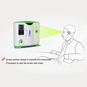 Image 5 - Portable Medical 2 9L Oxygen Generator Air Concentrator Air Purifier for Home and Travel Use, 110V