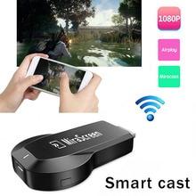 لاسلكي واي فاي HDMI دونغل المصبوب إلى التلفزيون محول آيفون 11 X XS ماكس XR 5 6 7 8 زائد لسامسونج S7 حافة S8 S9 S10 نوت 10 أندرويد