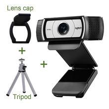 Logitech c930c c930e câmera de rede ensino 1080p computador desktop portátil vídeo conferência em linha classe beleza hd webcam c930