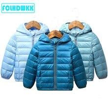 2020 inverno crianças casaco outono crianças jaqueta meninos outerwear casacos de cor doce meninas roupas de pouco peso para baixo jaqueta criança roupas