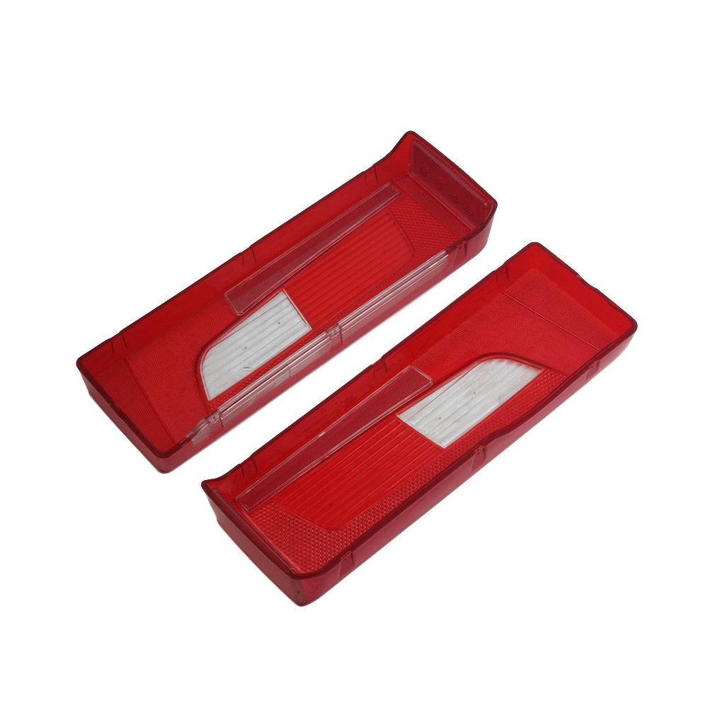 1 Pair ABS Lens Cover For Scania Truck Trailer Rear Taillight Tail Lights Warning Lamp Glass