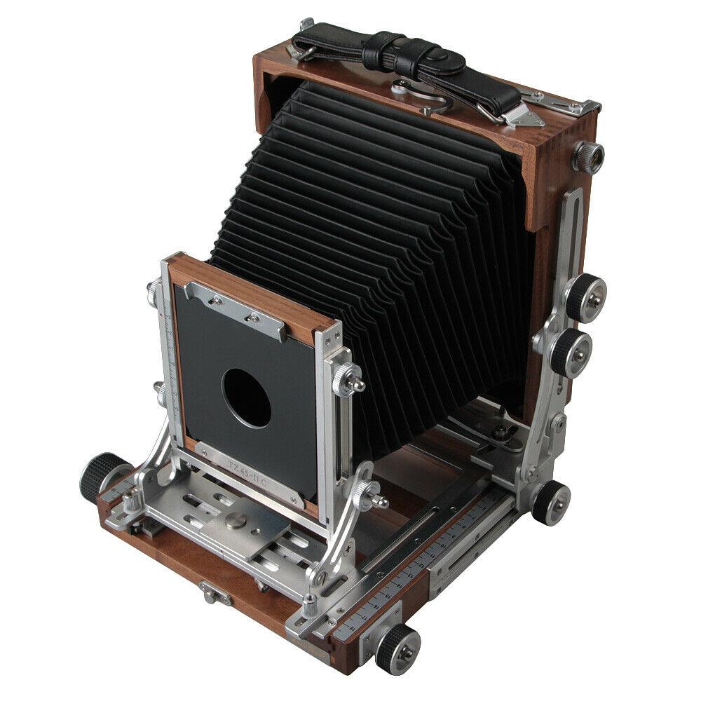 Shen Хао SH TZ45-II C черный орех деревянные поле откидной крышкой 4X5 большого формата Камера