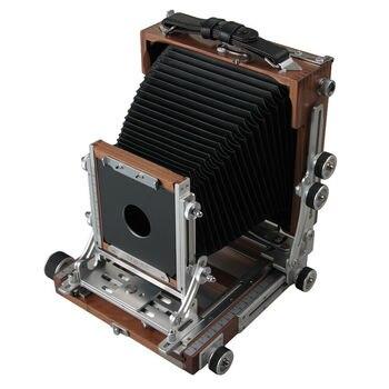 Shen Hao SH TZ45-II C Black Walnut Wooden Field Folding 4X5 Large Format Camera