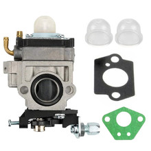 15mm Carburetor Kit For Brushcutter 43cc 49cc 52cc Strimmer Cutter Chainsaw Carb carburetor for oleo mac sparta 35 36 37 38 40 43 44 chainsaw carb strimmer carburettor brushcutter carby asy repl emak parts