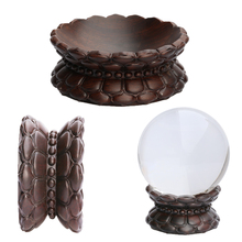Sphere-Holder Display-Stand Crystal Glass Lens-Ball Divination Wood Magic Photography