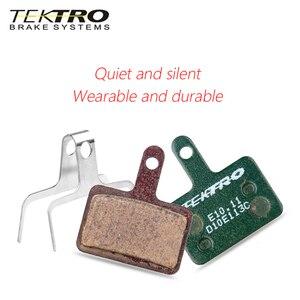 Image 5 - TEKTRO E10.11 plaquettes de frein vtt route de montagne pliable vélo plaquettes de frein à disque pour shimano MT200/M355//M395/M415/M285/M286/M280