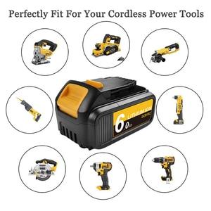 Image 5 - Bonacell 6000mAh 18V MAX XR for Dewalt Power Tool Battery for DCB180 DCB181 DCB182 DCB201 DCB201 2 DCB200 DCB200 2 DCB204 2 L50