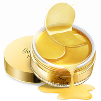 Fonce 24K Gold Crystal Collagen Gel Eye patches mask Ageless Sleep Mask Remover Wrinkle Anti Age Bag Eye Treatment Dark Circles|Creams| |  -
