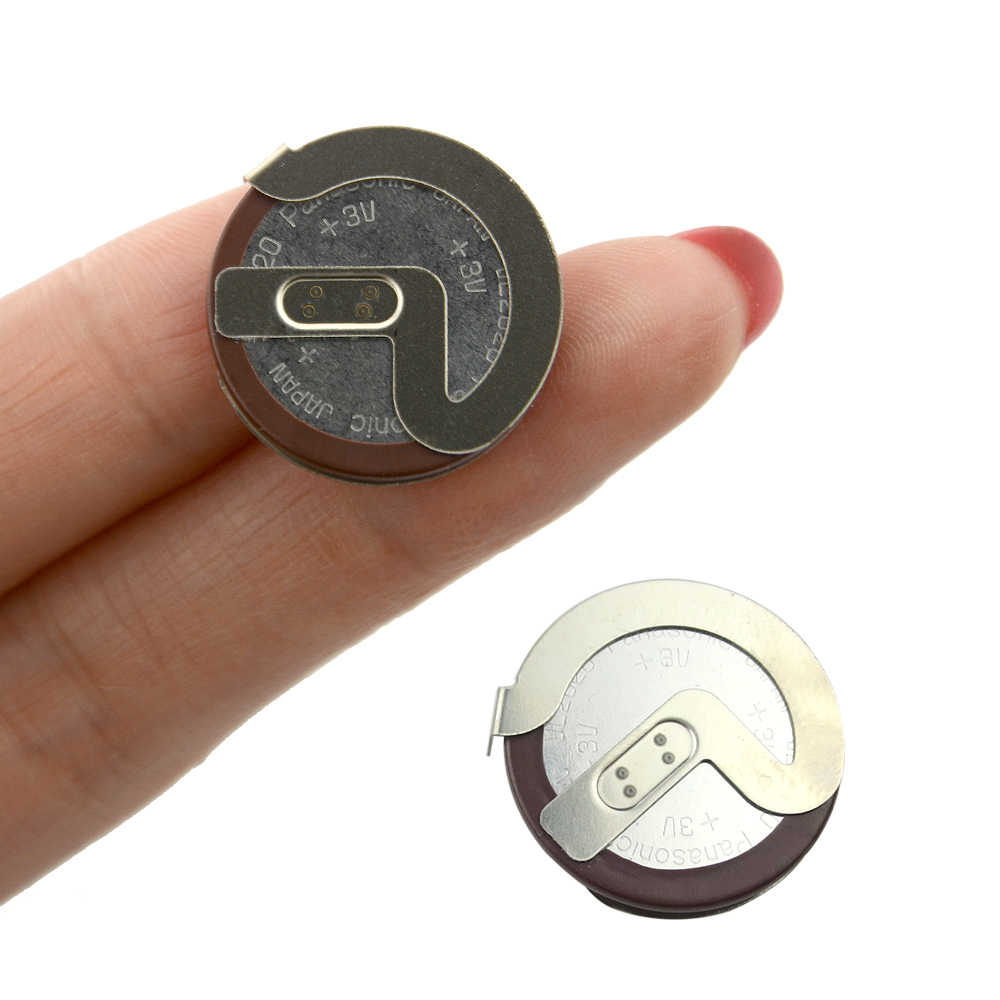 OkeyTech 1PC 100% orijinal ML2020 2020 90 derece Pins değiştirin VL2020 şarj edilebilir pil BMW için araba anahtarı uzaktan