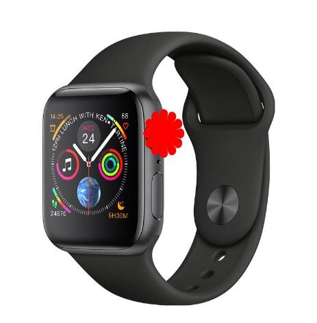 Relogio iwo8 8 1:1 SmartWatch Relógio Inteligente IWO 44mm Caso para a Apple iOS Android Pedômetro Freqüência Cardíaca ECG