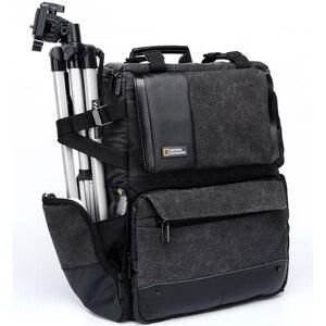 Image 2 - 내셔널 지오그래픽 NG W5072 가죽 카메라 가방 배낭 디지털 비디오 카메라 여행 가방에 대 한 대용량 노트북 운반 가방