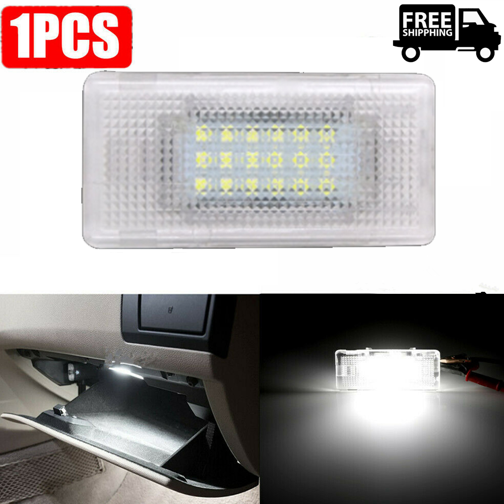 1pc Footwell Luggage Trunk Boot Glove Box LED Light For BMW E36 E38 E39 E46 E60 E60 E61 E65 E66 E82 E88 E90 E90 E91 E92 E93