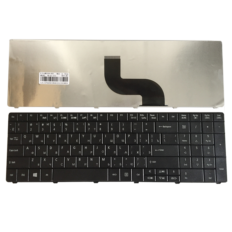 Russian Keyboard For Acer TravelMate V5WC1 P253 P453 P253-E P253-M P253-MG P453-M P453-MG RU Black PK130PI1B04 MP-09G33SU-6981W