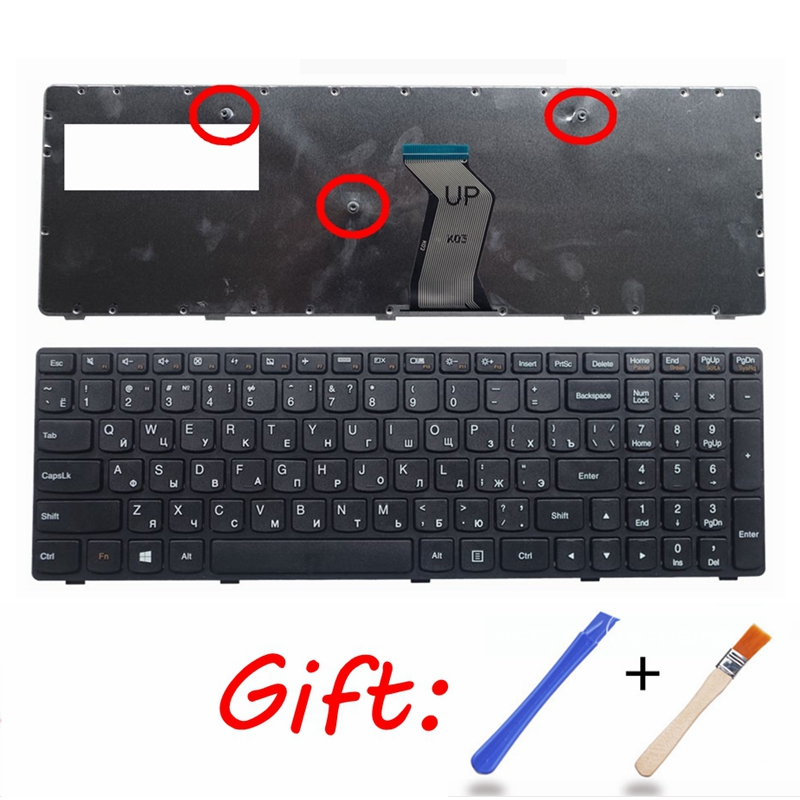 Ru Keyboard FOR LENOVO G510 G500AM G505 G500 G505A G500A G700 G710G700A G700AT RU 25210962 T4G9-RU V117020GS1 V-117020 NEW