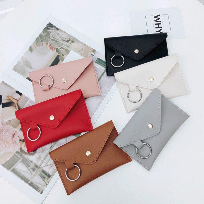 Bags for Women 2020 Women Leather Belt Bags Fashion Women Solid Color Ring PU Messenger Chest Pochete Homem