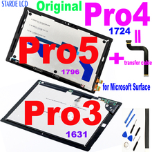 LCD originale per Microsoft Surface Pro 3 1631 Pro 4 1724 Pro 5 1796 Display LCD Touch Screen Digitizer Assembly per Display Pro3