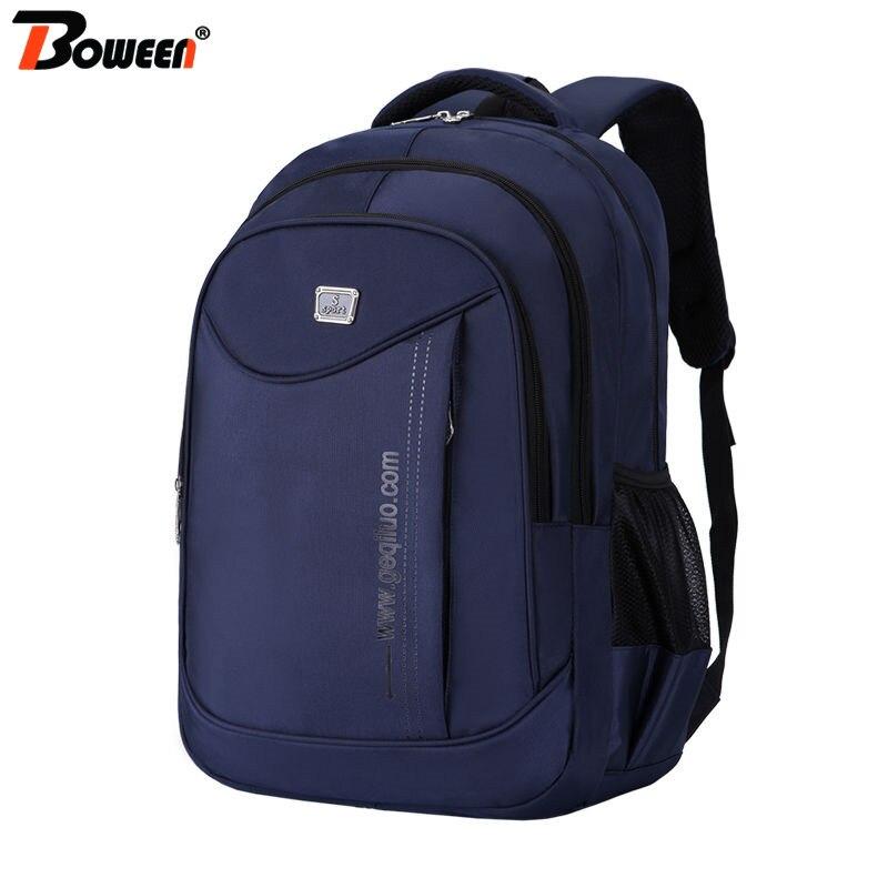 2020 Man Backpack Men Laptop Backpack Blue Teen Junior High School Bags Students Bagpack For Teenage Backbag Male Large Capacity
