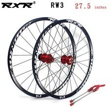 Колесная пара для горного велосипеда RXR, 27,5 дюйма, 5 подшипников, 7-11 скоростей
