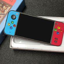 جهاز تحكم ألعاب صغير الحجم مقاس 5 بوصات عصا تحكم 360 درجة جهاز ألعاب محمول باليد جهاز إخراج تلفاز المضيف