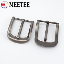 1/2pcs Brushed 40mm Metal Belt Buckles Fashion Jeans Waistband For 38-39mm Replacement Head DIY Leather Craft