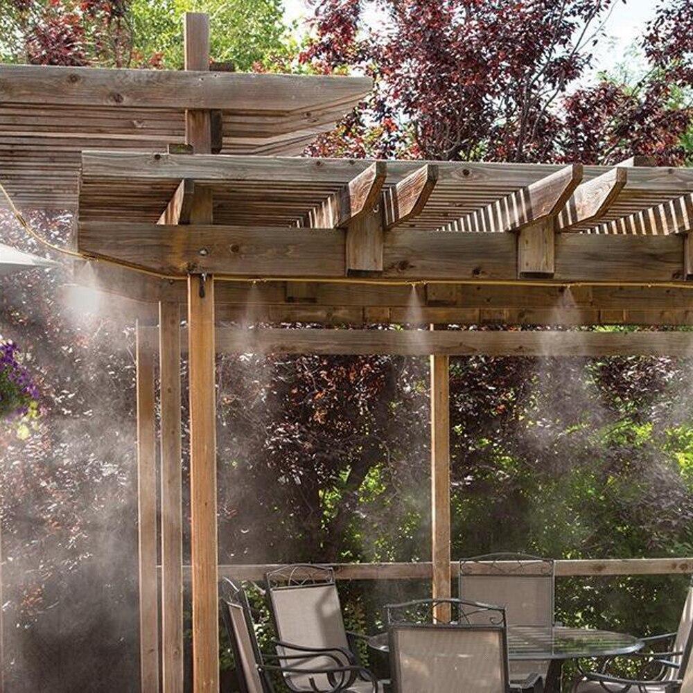 49ft Outdoor Water Sprinkler Garden Mister Cooling Patio Misting System Spray
