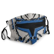 Respirator Star-Wars Face-Mask Mouth Reusable Helmet Muffle Soldier Dustproof-Protection-Cover