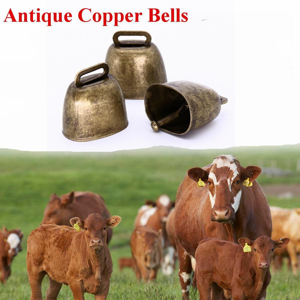Cow Horse Sheep Grazing Copper Bells Large Thickened Cattle Sheep Copper Bells Loud Crisp Spread Farther Loud Prevent The Loss