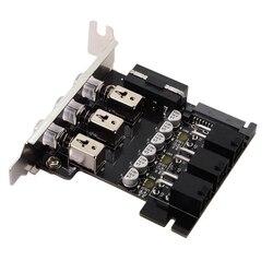 Dysk twardy regulacja mocy przełącznik dysk twardy przełącznik 15-Pin SATA selektor do komputera stacjonarnego