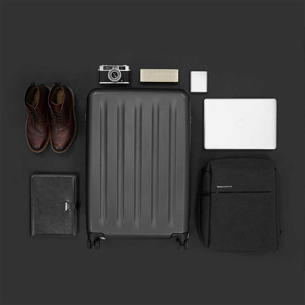 Maleta de PC NINETYGO 90FUN de 20 pulgadas, colorida maleta giratoria, ligera, con ruedas giratorias, para viaje, cerradura TSA para hombres y mujeres